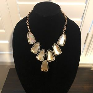 Kendra Scott Mother Of Pearl Harlow Necklace